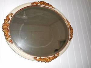 Antique oval mirror Gympie Gympie Area Preview