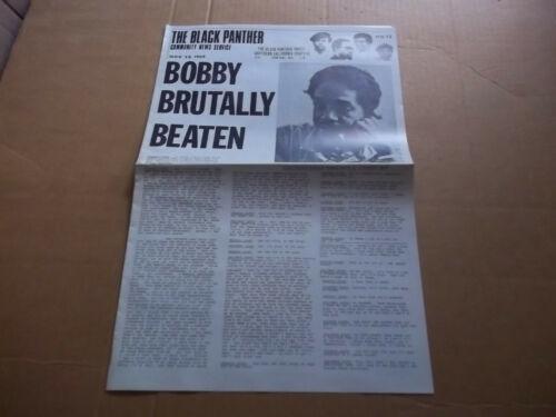 Black Panther Newspaper So. Cal. supplement Nov. 28, 1969  Bobby Seale VG+
