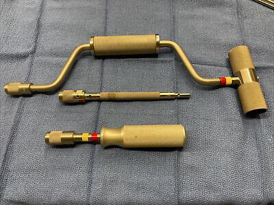 Zimmer 1085-01 02 03 Hand Drill Screwdriver Handle Extension