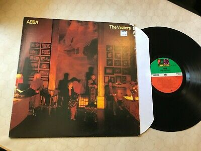 ABBA THE VISITORS ATLANTIC SD19332 US 1981 VINYL LP rare usa w/lyric inr orig NM