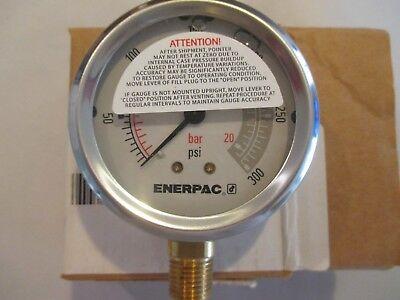 Enerpac G2512l Hydraulic Pressure Gauge.