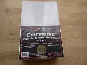 Comic book boards polypropylene bags x 100 Reservoir Darebin Area Preview