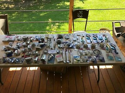Lot Of 80 Plumbing Parts Fittingsbath Spouts All New  3205