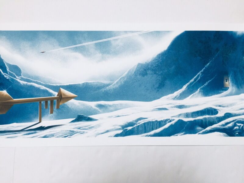 JC Richard Poster Fortress Of Solitude Superman Print #d Of 200 Justice League