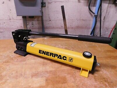 Enerpac 2-speed Manual Hydraulic Hand Pump 1 Piston Stroke P392