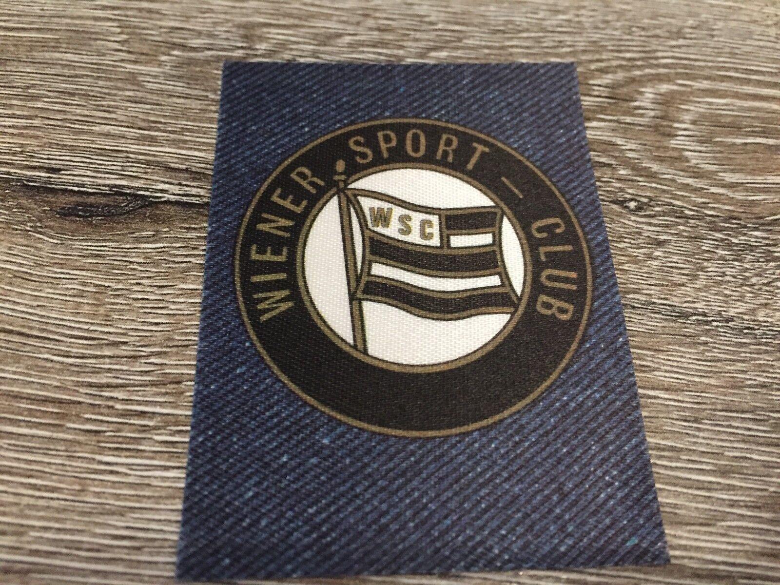 Panini Jean's Fussball 1978 - Club Team Sticker 78 - Wiener Sport Club