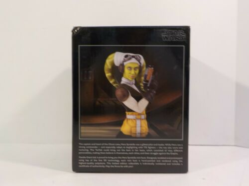 Gentle Giant Hera Syndulla REBELS bust statue SDCC Exclusive