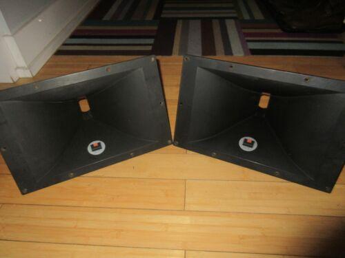 """Pair of JBL 2385  Bi-Radial Horns 2"""" throat, 60x40 deg"""