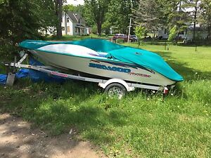 Seadoo Sportster boat and trailer