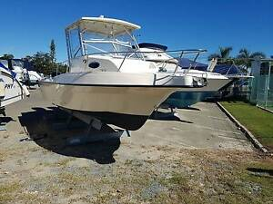 26ft Seamaster WA, Re-furbished, new twin 150 Merc 4 stroke 2016 Clontarf Redcliffe Area Preview