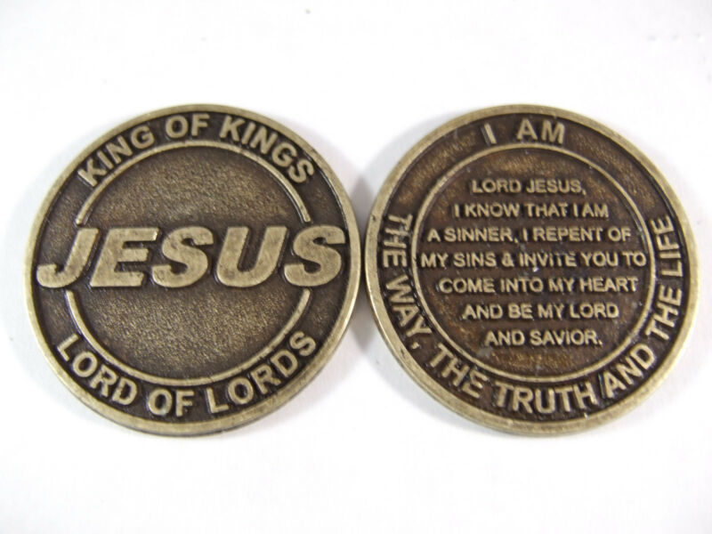 JESUS Salvation Coin - Lot of 50 coins @ $.75 per coin