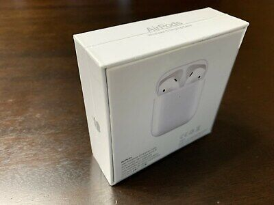 Apple AirPods 2nd Generation with Wireless Charging Case - White 100% Authentic