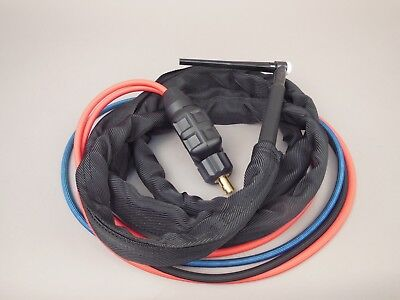 12.5 Wp-20f Flex Water Cooled Tig Torch Package Thermal Arc 201ts 201 Ts