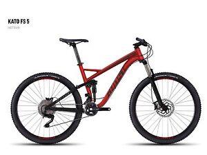 GHOST Kato FS 5 Mountain-Bike 27.5-Zoll FOX Shimano XT MTB Fully NEU Größe L