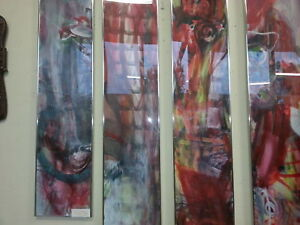 George Graydon Dyck Abstract Watercolour Paintings