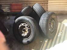 Five tyres for sale size 195-65-14 good year very good conditions Edensor Park Fairfield Area Preview