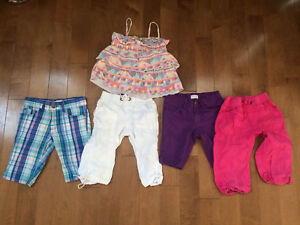 Girls Summer clothes size 6