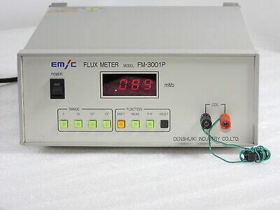 Emc Fm-3001p Flux Meter Module
