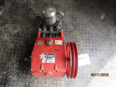 Gail 10000 Piston Pump 911232c Sn89830 Shaft 1 58x 1 Used