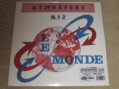 D.H. / DAVID HOYT KIMBALL - ATMOSFERE N. 1-2 - AVANT GARDE - DOUBLE LP
