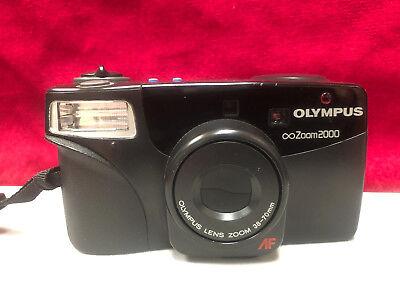 Compact Zoom Lens Film Camera (Olympus Infinity Zoom 2000 Compact 35mm Film Camera AF 38-70mm Zoom Lens)