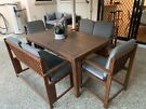 Outdoor table set - 6 seater
