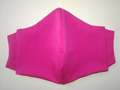L Coolmax® Mesh Arbeitsmaske 8-Stunden Mundschutz Gesichtsmaske pink rosa sport