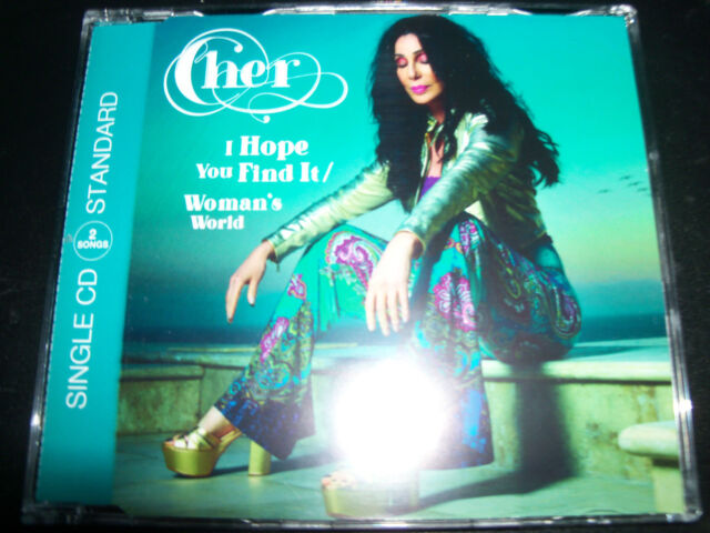 Cher I Hope You Find It / A Woman's Worth EU CD Single - NEW