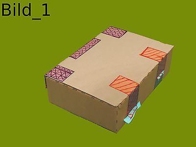 Prinzip Koffer (zu): hinten Scharnier, vorne Verschlüsse