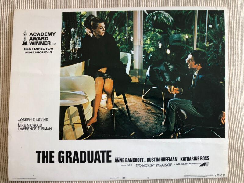 1972 Original The Graduate Lobby Card