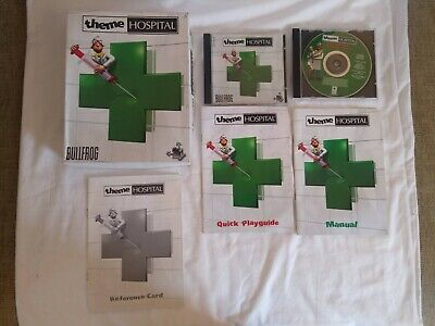 Theme Hospital Big Box PC CD ROM Game, Original Release, Retro includes manuals, used for sale  Shipping to Nigeria