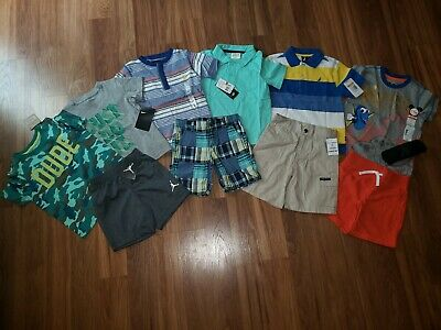 NWT Toddler Boy's ~Size 3T~ Spring/Summer Clothes Brand Name Shorts Tshirts LT2