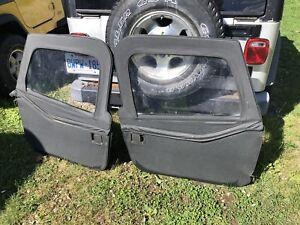 Jeep TJ Soft Doors