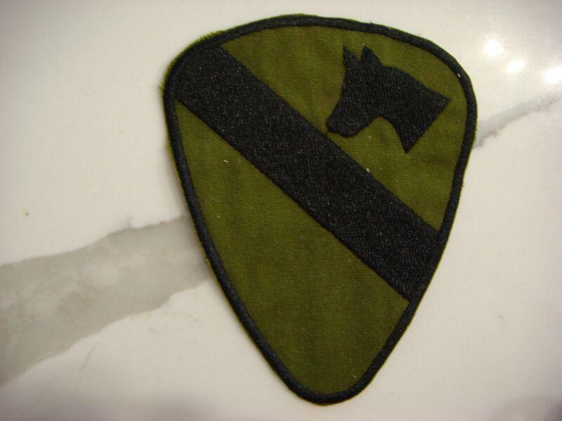 US 1st CAVALRY DIVISION, VIETNAM WAR PATCH