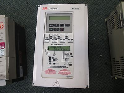 Abb Acs501 Ac Drive Acs501-003-4-00p2 35hp Used