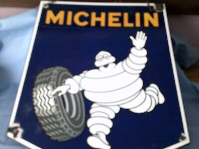 VINTAGE MITCHELIN ENAMEL SIGN