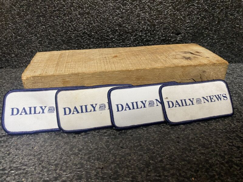 Vtg New York City The Daily News Patch Lots of 2