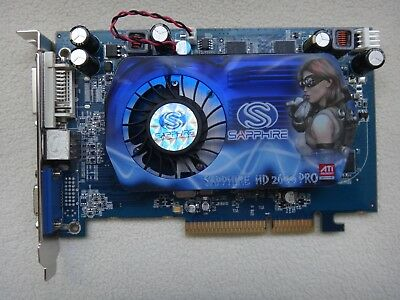 Sapphire ATi Radeon HD2600 PRO 512MB 128Bit DDR2 AGP 8x DVI/VGA/TV Graphics Card