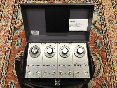 Trilithic Vf-4 Portable Tunable Filter Preselector W Case Free Shipping