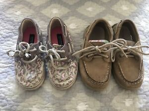 Sperry Top Siders - Toddles 6.5