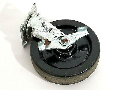 8 Swivel Caster Heavy Duty With Brake Polyolefin Wheel 900 Lbs Capacity
