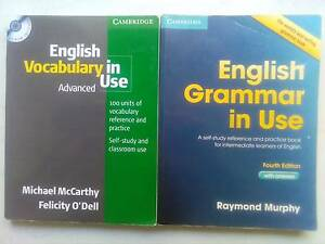 Cambridge English Grammar and Vocabulary in use Mosman Park Cottesloe Area Preview