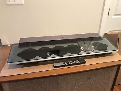 Bang Olufsen B&O Beosound 9000 6 CD Player Serviced W/ Table Stand + Beo4 Remote