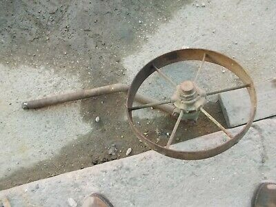 John Deere Steel Flat Spoke 17 X 2 12 Wheel Rake 602 G5679 Mounting Bracket