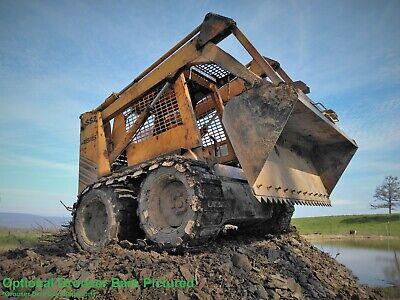 Skid Steer Loader Over Tire Steel Tracks Ott 12x16.5 Tires Standard Link