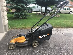 Electric lawn mower WORX