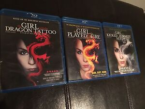 Girl with the Dragon Tattoo Trilogy - Bluray