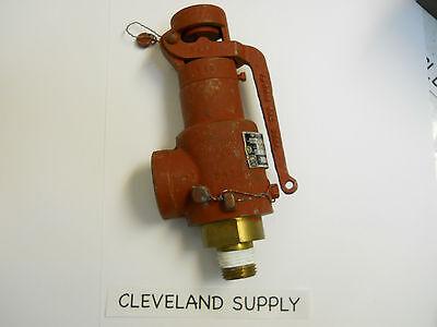 Teledyne Farris 1875-ol Safety Relief Valve 22 Set Pressure 12 Nos Condition