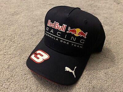 Daniel Ricciardo Red Bull Formula 1 F1 Puma Cap Hat, New with Tags