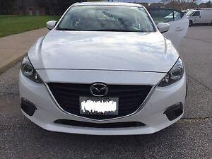 White 2014 Mazda3 GS - Remote Starter, Winter tires - Low KM